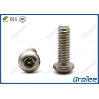 Buy cheap 304/316 Stainless Steel Button Head Pin-in Hex Tamper Resistant Screw product