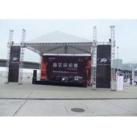 Buy cheap Span 15m Aluminum Stage Truss 300mm X 300mm Strong Loading Capacity For Trade Show product