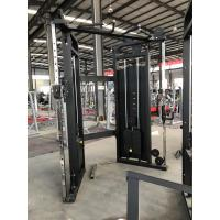 PU Leather Fitness Exercise Equipment , Weightlifting Functional Trainer Machine