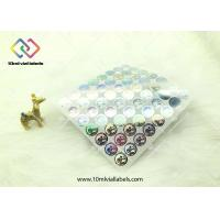 Buy cheap 20mm Round Shape Disposable Holographic Sticker Paper With Custom Logo product