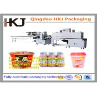 Buy cheap Full Automatic Instant Noodle Packaging Machine With Wrapping And Shrinking Function product