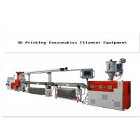 Buy cheap Plastic 3d Printer Filament Extrusion Line With Single-Screw 380V product