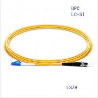 Buy cheap LC/Upc-ST/Upc Singlemode Simplex Fiber Optic Patch Cord FTTH Cable product