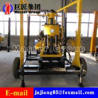 Buy cheap XYX-130 Wheel Type Hydraulic water well drilling machine rotary drilling rig /small bore well drilling machine product