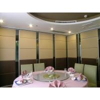 Buy cheap Soundproof Mobile Movable Wall Partitions Melamine Finishing 500 - 1200 mm Width from wholesalers
