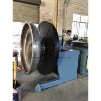 China Heavy Duty Rotary Welding Positioner with Rotating and Tilting Motor 2Ton at vertical position on sale