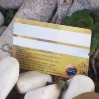 Buy cheap Silver Magnetic Stripe Card product