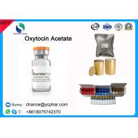Buy cheap Pharmaceutical Grade Peptides Powder Oxytocin Acetate Injectable For Hasten Parturition CAS 50-56-6 product