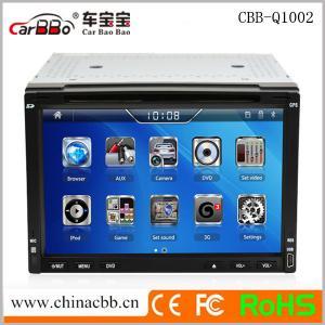 China 6.2 Car DVD GPS Navigation,High Quality OEM Universal with WINCE 6.0 Sytem on sale