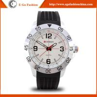 China 8181 Curren Watch for Sports Boy Hip Hop Dancing Watches Wristwatch Silicone Sport Watch on sale
