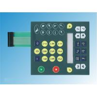 Buy cheap PC Waterproof Embossed Flexible Tactile Membrane Switch For Computer Keyboard product