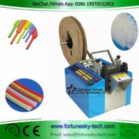 Buy cheap Fully Automatic Heat Shrinkable Tubing Hot Cold Cutter Cut To Length Auto-Stop Speedy Accuracy product
