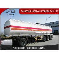 Buy cheap Professional 45000 Liters Fuel Tanker Semi Trailer With 5 Compartments  product