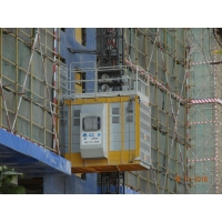 Buy cheap VFD Rack Pinion Lift For Construction Materials product