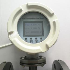 Buy cheap Electromagnetic Flow Meter with English / Korean / Polish / Turkish / French / Portuguese Language for Option product