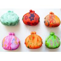 Buy cheap PMS Color Water Transfer Printing Silicone Promotional Gift Coin Wallet for Ladies product