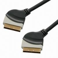 Buy cheap SCART Cables in Double molding Color, Made of PVC, Customized Colors are Accepted product