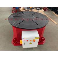 China Rotary Horizontal Welding Positioner / Welding Positioner Turntable Fast Rotation Speed on sale