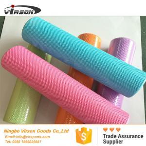 90cm high density eva foam roller with dot design rounded edges
