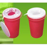 China Red Disposable Sharp Containers For Needles Puncture And Impact Resistant on sale
