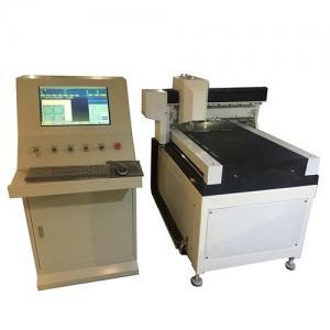 China Eco - Friendly Glass Cutter Machine 20m / Min Max Speed With High Precision,Ultra Thin Glass Cutting Machine on sale