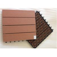 Quality Wood Plastic Composite DIY Flooring Board with colorful light for sale