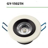 Buy cheap 3000k / 6500k Round Led Downlights GY-1502TH 7W AC100-265V Input Voltage product