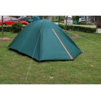 China Nylon Dome Waterproof Camping Tent setup For 3 - 4 Person / Camping Family Tent on sale