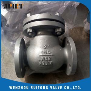 swing check valve 150lb cast steel a216 wcb flange end API standard