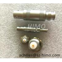 Buy cheap self-locking lemo S series coaxial cable connector plug and socket product