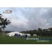 Buy cheap Product Lauch 20m Clear Span Tent With Translucent PVC Sidewalls For Exhibition from Wholesalers