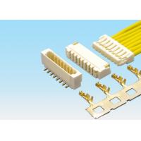 Buy cheap SMD 0.8mm Pitch Electronic Wire Connectors , 2 - 20 Pin PCB Connectors Wire To Board product