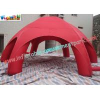 Buy cheap Waterproof Advertising Inflatable Party Tent , Outdoor PVC Tarpaulin Airtight Tent from Wholesalers