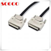 China Metal Hood Custom Cable Assemblies Type VHDCI 68 Pin SCSI-5 Two Years Warranty on sale