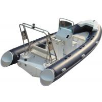 520cm ORCA  Hypalon  inflatable rib boat rib520 sunbed fuel tank with big  center console butterfly anchor