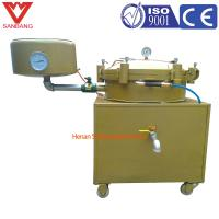 Buy cheap Cheap fast filter, 50 kg per hour palm oil high pressure filter, peanut oil pressure filtration equipment product