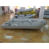Durable PVC Inflatable Boat Fishing Raft 3 Person Kaya With Floor Damage Resistance