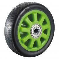 Buy cheap 200mm 100mm PU Caster Wheels With Brakes Heavy Duty Industry Support product