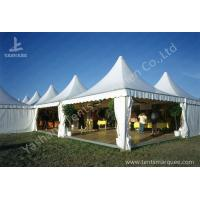 Buy cheap Array Pagoda Fabric Tent Structures , Luxury outdoor canopy tent High Peak from Wholesalers
