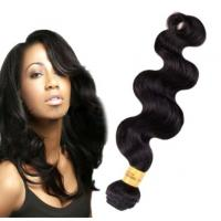 Buy cheap Long Lasting100 Indian Human Hair Weave For Black Women Body Wave product