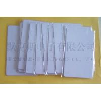 Buy cheap RFID UHF EPC Global Class I Gen 2  ISO I8000-6C  White Card (No Printed Information) product