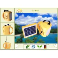 China Multifunction Polycrystalline Silicon Panel Westinghouse Solar Lights With 4 Selective Switch on sale