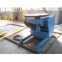 Buy cheap Horizontal Automatic Welding Positioner , 3 Ton Weld Positioner Turing Tables product