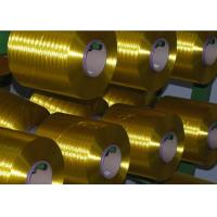 Buy cheap Dyed Twisted Industrial Polyester Yarn 3000D AA Grade For Knitting Fabric , OEKO Standard product