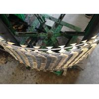 China Stainless Steel Concertina Razor Barbed Wire For Fence With High Security on sale