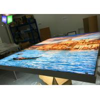 Buy cheap Large LED Fabric Light Box Signs Wall Mounted Picture Frame Artwork Printing product