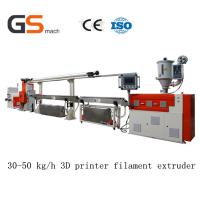 Buy cheap 30 50 Kg / H 3D Printer Filament Extruder / Extrusion Line , ABS Pla Filament Extruder product
