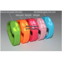 China Custom new silicone led watch sports watch with cheap price on sale