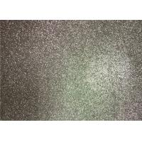 China Bedroom Wallpaper PU Material Silver Glitter Fabric For Living Room Home Decor for sale
