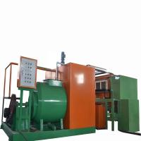 Buy cheap Easy Operate Paper Pulp Molding Machine , Egg Packaging Box Maker product